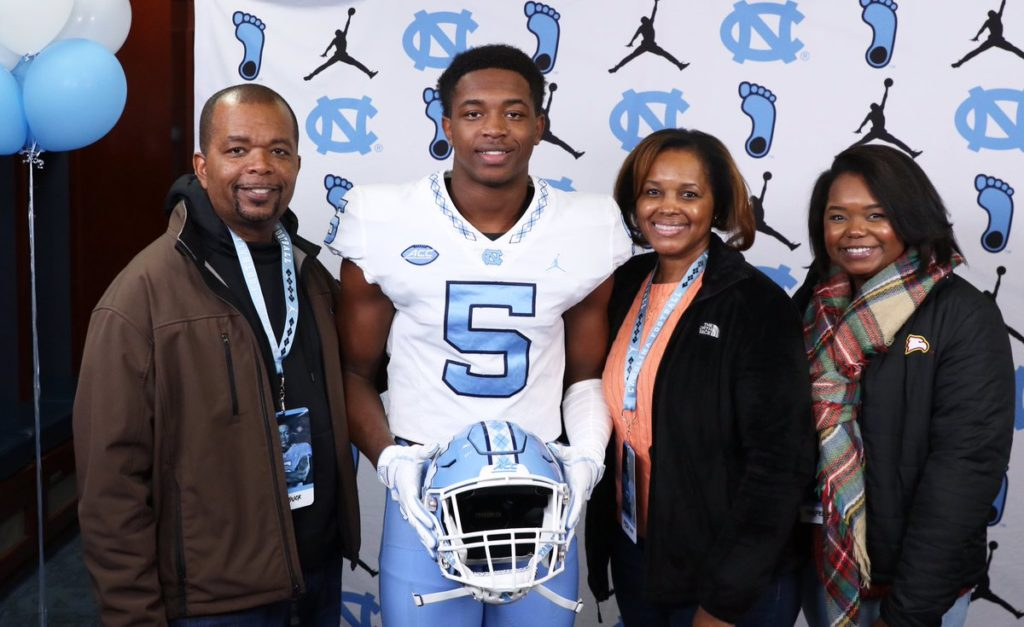 Storm Duck UNC Chapel Hill National Football Signing Day