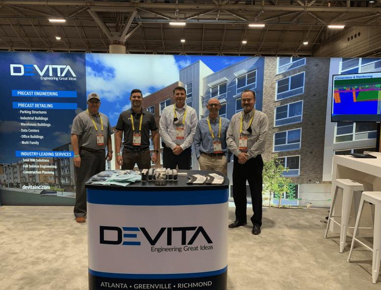 DEVITA's Precast Division representative at 2021's PCI Convention